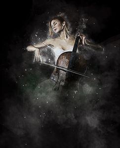 Celloist in a Dream