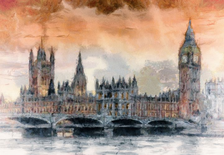 Houses of Parliament - Keith R Furness