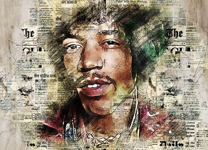 The Experienced Jimi Hendrix - Keith R Furness
