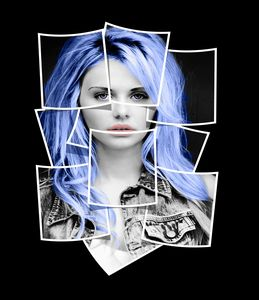 Polaroid Woman