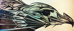 Tribal(ish) Eagle