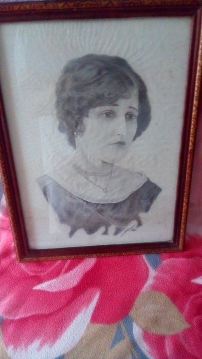 100 years old drawing - Alexandra Mănescu
