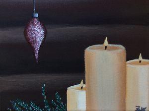Christmas candles #2