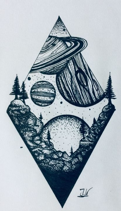 Edge of the earth - J.W art