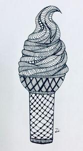 Creamy ice cream