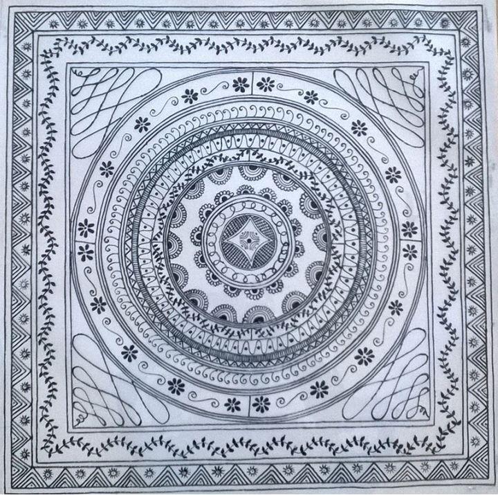 Chakra of life - Saaz Arty