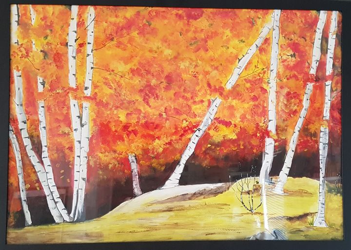 Forest on Fire - Saaz Arty