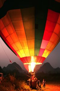 Hot Air Balloon at Dawn