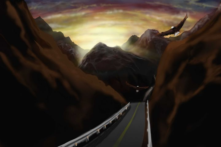 The Highway - DigitalArt4You