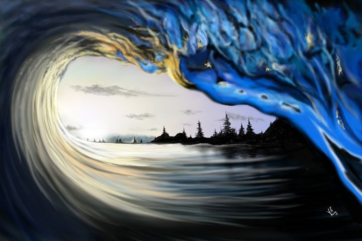 """The Tube"" - DigitalArt4You"