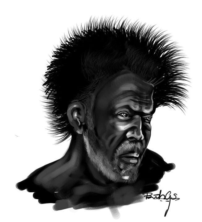 The Old Man - Art of Binesh