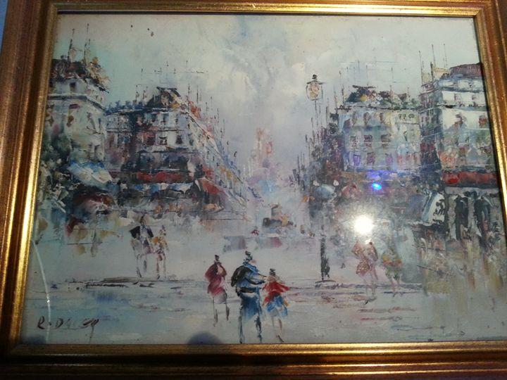Paris streets - Rossi