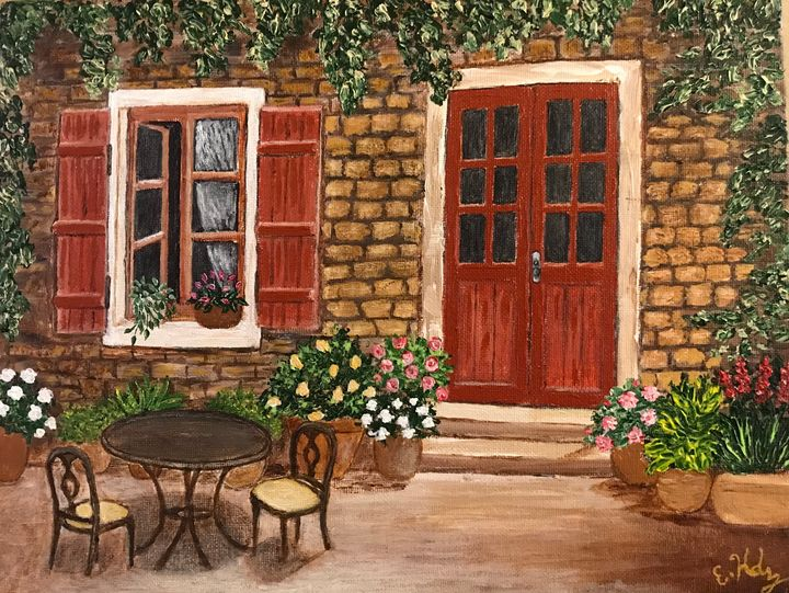 The Comfort of Home - Fine Art by Evelyn Hernandez