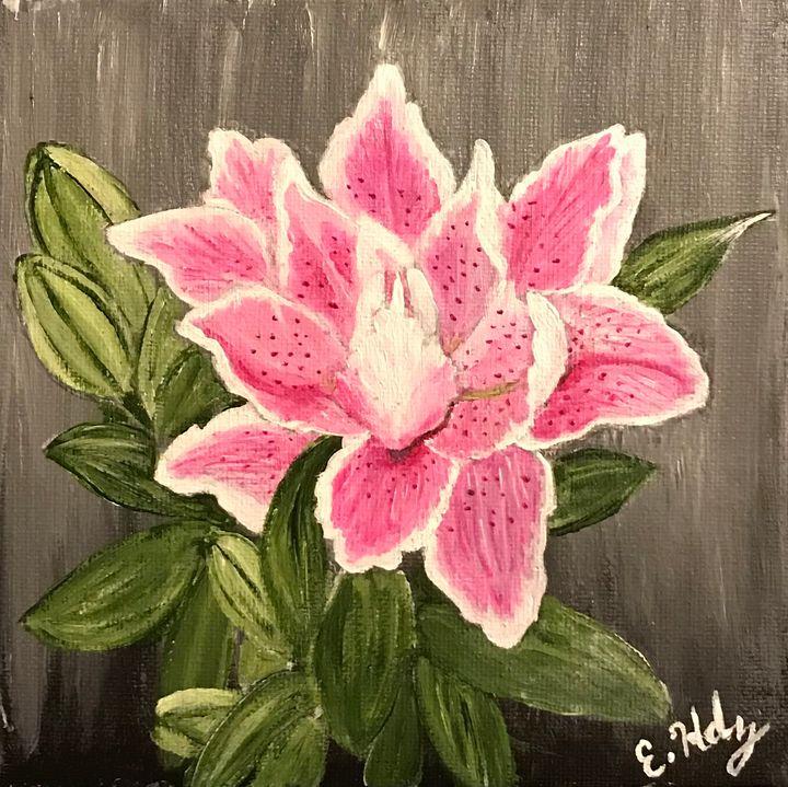 Lovely Lilly - Fine Art by Evelyn Hernandez