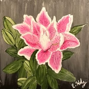 Lovely Lilly - Fine Art by Evelyn Hernandez