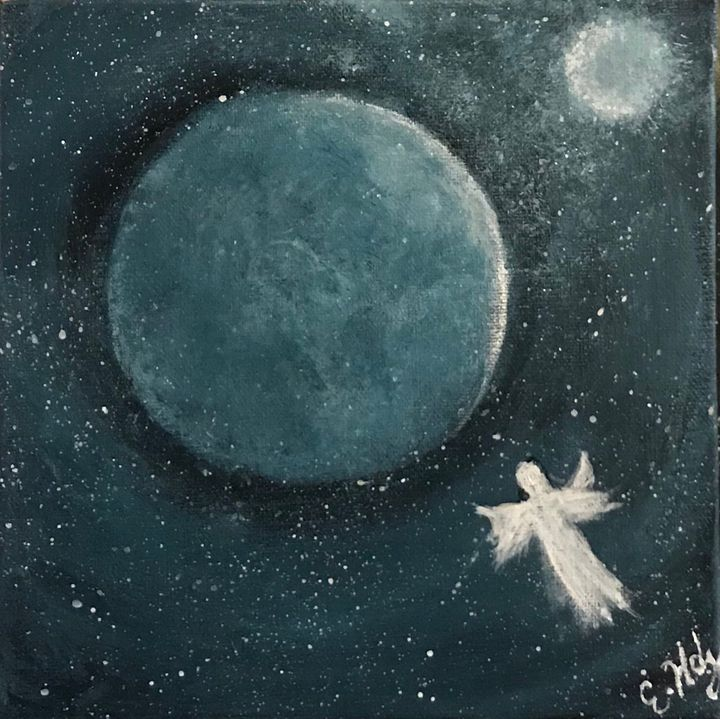 Up Above the Heavens - Fine Art by Evelyn Hernandez