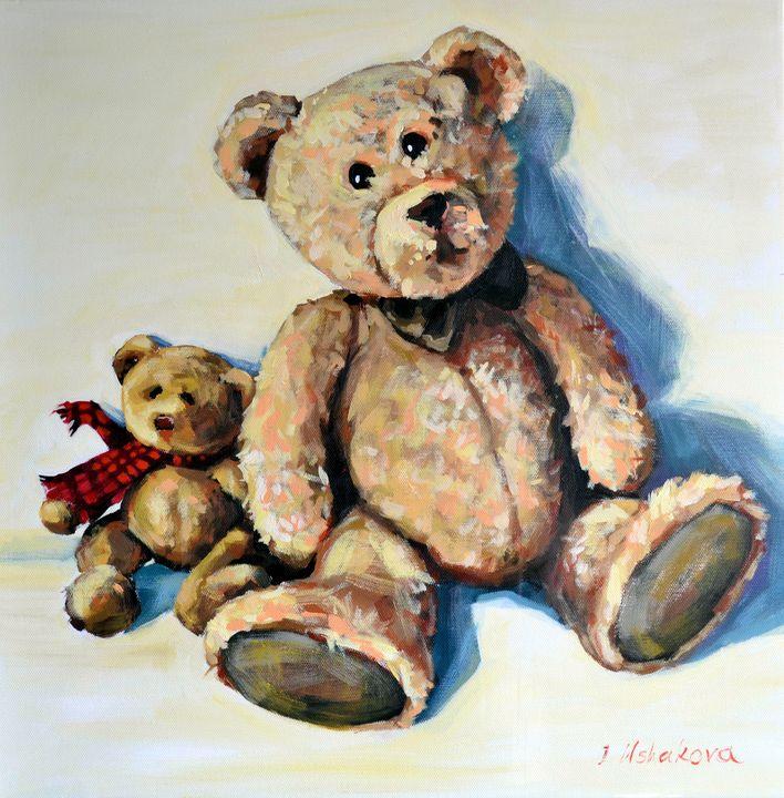 TWO TEDDY BEARS - Irina Ushakova