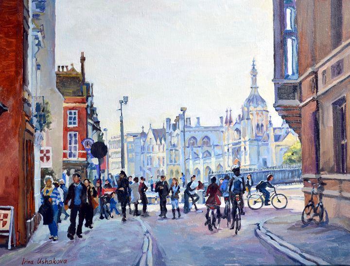 Cambridge.The City Centre. - Irina Ushakova