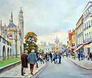 Cambridge. King''s Parade. - Irina Ushakova