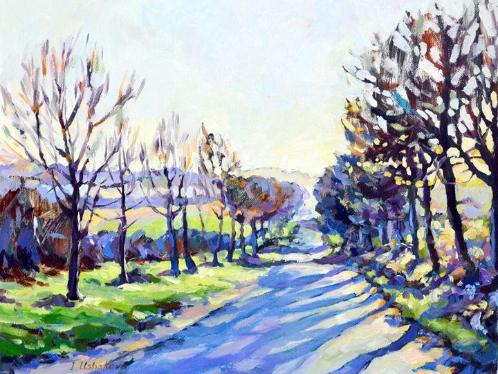 Road. - Irina Ushakova