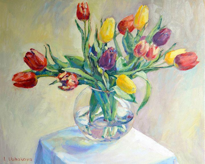 Tulips - Irina Ushakova