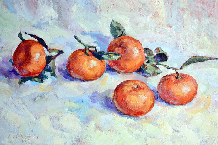 Tangerines - Irina Ushakova