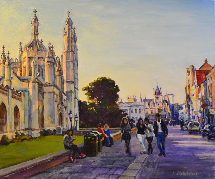 Cambridge. King's Parade 2. - Irina Ushakova