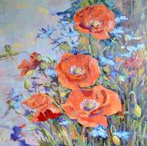 Poppies. - Irina Ushakova