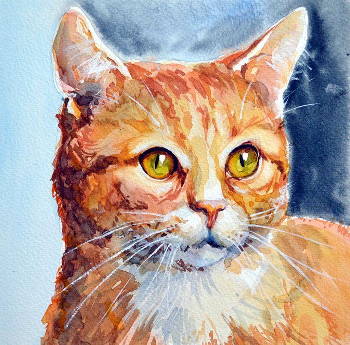 Red cat 2. - Irina Ushakova