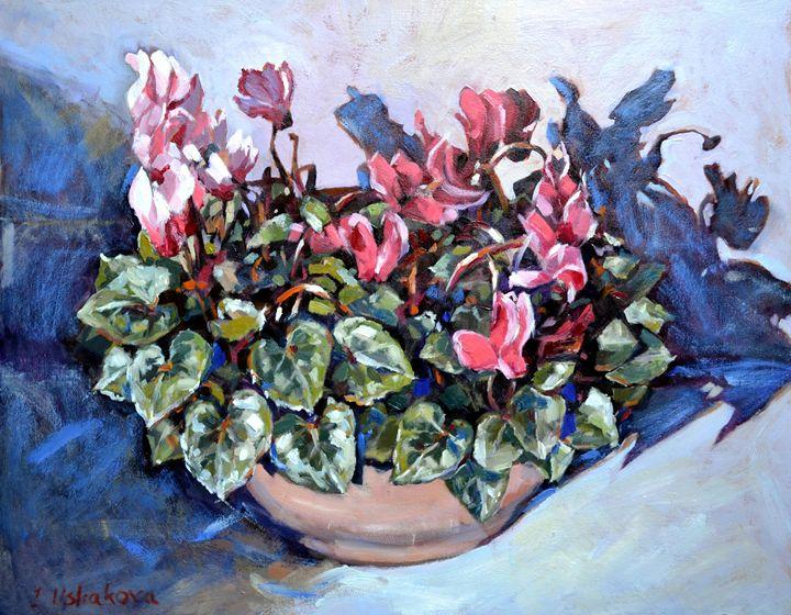 Cyclamens. - Irina Ushakova
