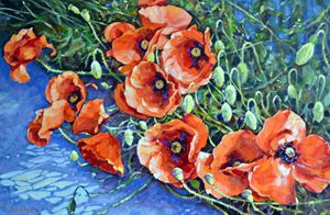 Poppies 2. - Irina Ushakova