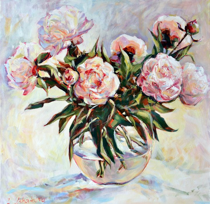 Peonies 2 - Irina Ushakova