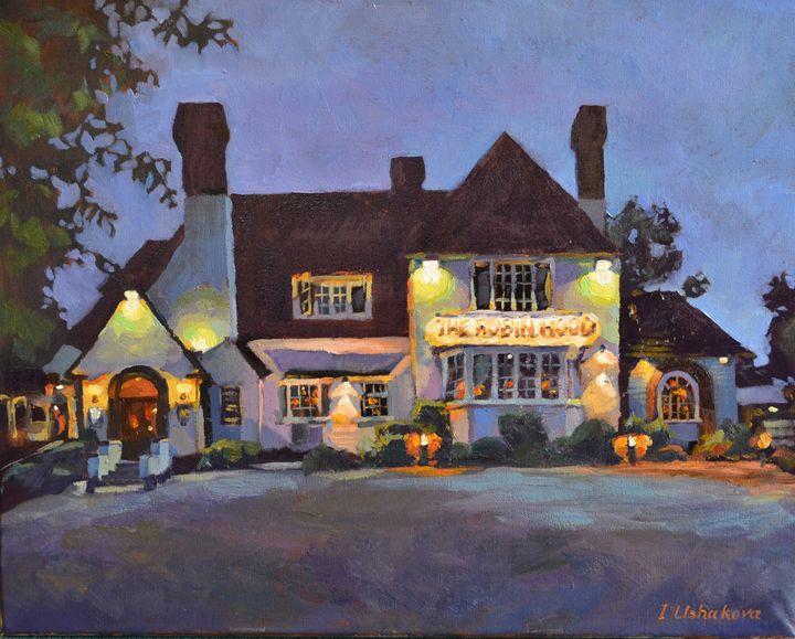 Cambridge. The  Pub in the Dark. - Irina Ushakova