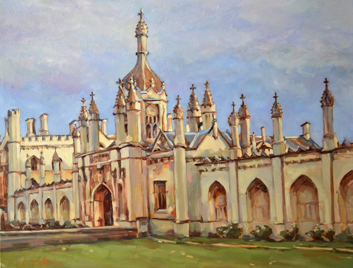 CAMBRIDGE. KING'S COLLEGE. - Irina Ushakova