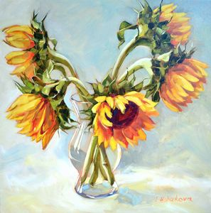 Sunflowers - Irina Ushakova