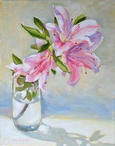 Pink azalia - Irina Ushakova