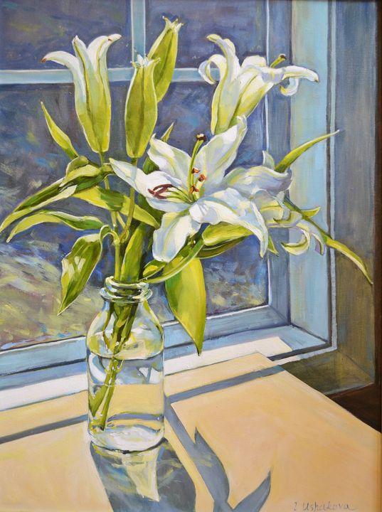 White lilies - Irina Ushakova