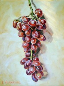 Red grapes - Irina Ushakova