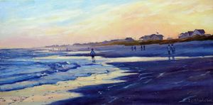 Atlantic Beach Sunset - Irina Ushakova