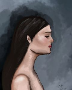 oil paint on Digital - Maria's Gallery