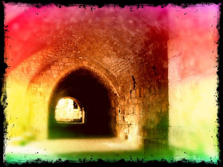 tunnel of light - Pixie