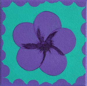 Purple Plumeria 1