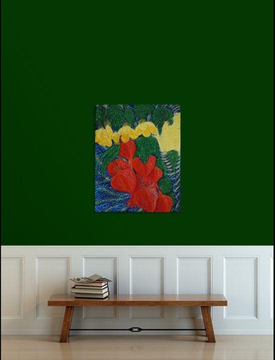 Abutilons In The Breeze - Zen8 Gallery