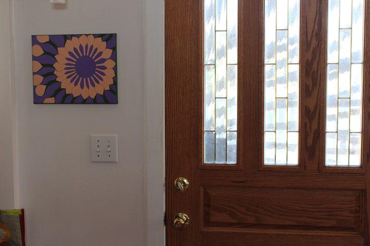 African Daisy On Purple 1 Entry - Zen8 Gallery