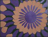 African Daisy on Purple 1