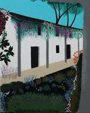 Acrylic Adobe Garden