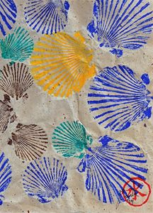 Gyotaku Scallops - Shellfish Apetite