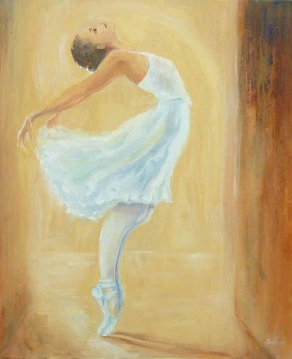 Ballerina on Street Arc. - Art gallery Susana Zárate