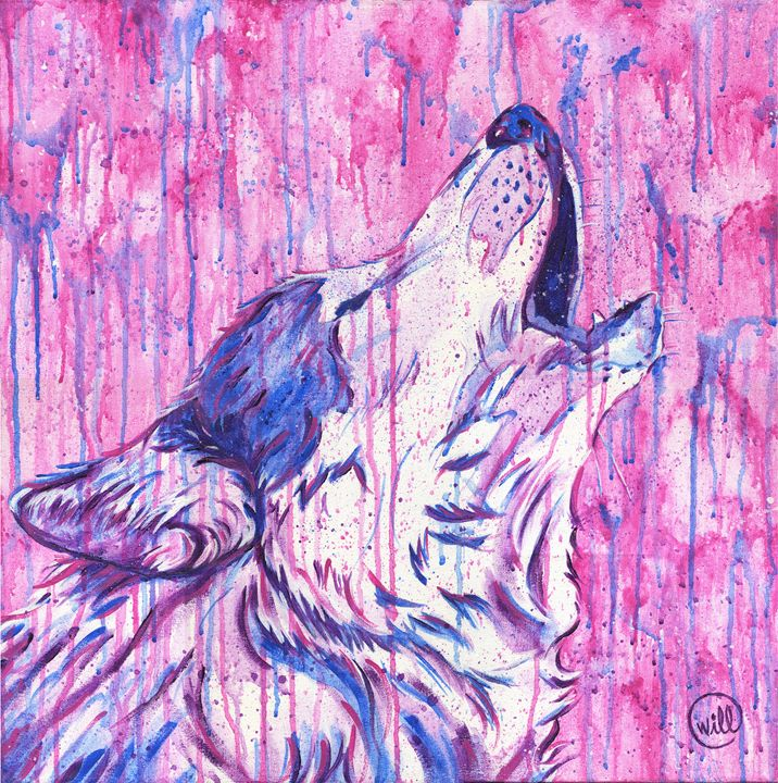 Wolf - Will Ford Art