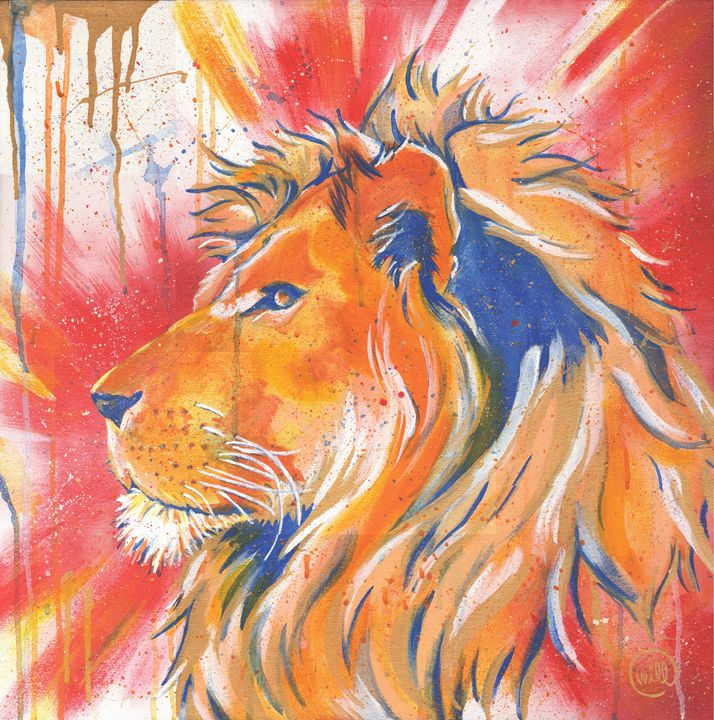 Lion - Will Ford Art